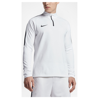 Nike Academy 1/2 Zip Top - Men's - White / Black