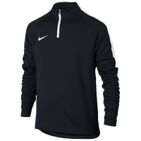 Nike Academy 1/2 Zip Top - Boys' Grade School - Black / White