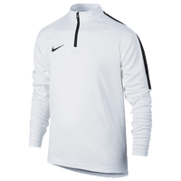 Nike Academy 1/2 Zip Top - Grade School - White / Black