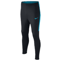 Nike Academy Knit Pants - Grade School - Black / Light Blue