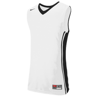 Nike Team National Varsity Jersey - Men's - White / Black