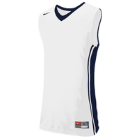 Nike Team National Varsity Jersey - Men's - White / Navy