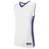 Nike Team National Varsity Jersey - Men's - White / Purple