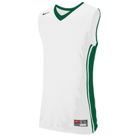 Nike Team National Varsity Jersey - Men's - White / Dark Green