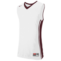 Nike Team National Varsity Jersey - Men's - White / Red