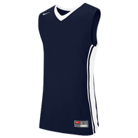 Nike Team National Varsity Jersey - Men's - Navy / White