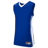 Nike Team National Varsity Jersey - Men's - Blue / White