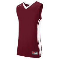Nike Team National Varsity Jersey - Men's - Maroon / White