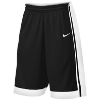 Nike Team National Varsity Shorts - Men's - Black / White