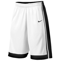 Nike Team National Varsity Shorts - Men's - White / Black