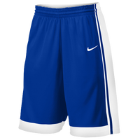 Nike Team National Varsity Shorts - Men's - Blue / White