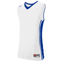 Nike Team National Varsity Jersey - Boys' Grade School - White / Blue