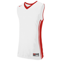 Nike Team National Varsity Jersey - Boys' Grade School - White / Red