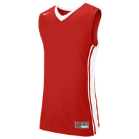 Nike Team National Varsity Jersey - Boys' Grade School - Red / White