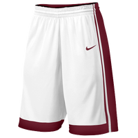 Nike Team National Varsity Shorts - Boys' Grade School - White / Maroon