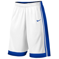 Nike Team National Varsity Shorts - Boys' Grade School - White / Blue