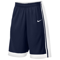 Nike Team National Varsity Shorts - Boys' Grade School - Navy / White