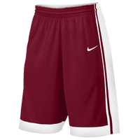 Nike Team National Varsity Shorts - Boys' Grade School - Maroon / White