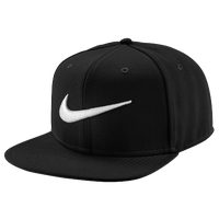 Nike Swoosh Pro Snapback - Men's - Black / White