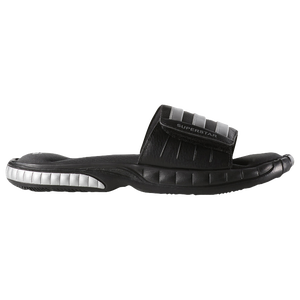 adidas Superstar 3G Slide - Men's - Black/Metallic Silver/Solid Grey