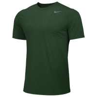 Nike Team Legend Short Sleeve Poly Top - Boys' Grade School - Dark Green / Dark Green