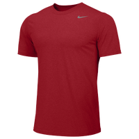 Nike Team Legend Short Sleeve Poly Top - Boys' Grade School - Red / Red