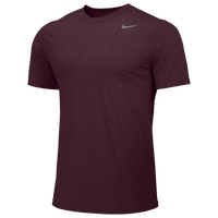 Nike Team Legend Short Sleeve Poly Top - Boys' Grade School - Maroon / Maroon