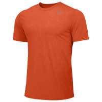 Nike Team Legend Short Sleeve Poly Top - Boys' Grade School - Orange / Orange