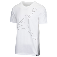 Jordan Jumpman Rise Dri-FIT T-Shirt - Men's - White / Black