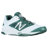 New Balance 4040v3 Turf - Men's - White / Dark Green