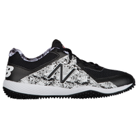 New Balance 4040v4 Youth Turf - Boys' Grade School -  Dustin Pedroia - Black / Grey