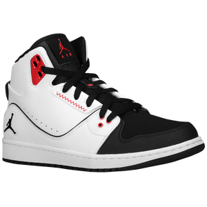 Jordan 1 Flight 2 - Men's - White/Black/Gym Red