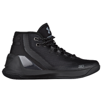Under Armour Curry 3 - Boys' Grade School -  Stephen Curry - All Black / Black