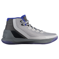 Under Armour Curry 3 - Boys' Grade School -  Stephen Curry - Grey / Blue