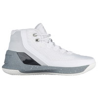 Under Armour Curry 3 - Boys' Grade School -  Stephen Curry - White / Silver