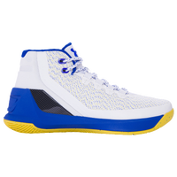 Under Armour Curry 3 - Boys' Grade School -  Stephen Curry - White / Blue