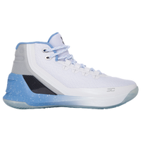 Under Armour Curry 3 - Boys' Grade School -  Stephen Curry - White / Light Blue
