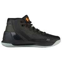 Under Armour Curry 3 - Boys' Grade School -  Stephen Curry - Dark Green / Black