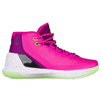 Under Armour Curry 3 - Girls' Grade School -  Stephen Curry - Pink / Purple