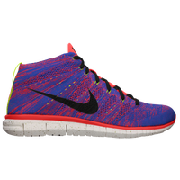 Nike Free Flyknit Chukka - Men's - Red / Blue