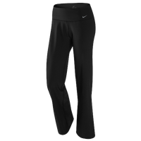 Nike Legend Regular Pants - Women's - All Black / Black
