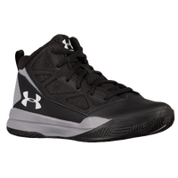 Under Armour Jet Mid - Boys' Preschool - Black / Grey