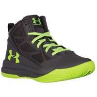 Under Armour Jet Mid - Boys' Preschool - Grey / Light Green