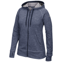 adidas Team Issue Full-Zip Hoodie - Women's - Navy / Grey
