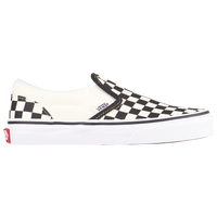 Vans Classic Slip On - Boys' Preschool - White / Black