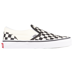 Vans Classic Slip On - Boys' Preschool - Black/True White