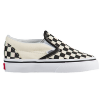 Vans Classic Slip On - Boys' Toddler - White / Black