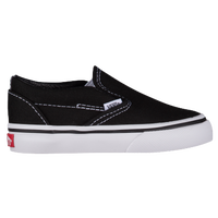 Vans Classic Slip On - Boys' Toddler - Black / White