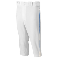 Mizuno Premier Short Piped Pants - Men's - White / Blue