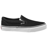 Vans Classic Slip On - Boys' Preschool - Black / White